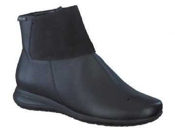 Mephisto 'NONIE' Black Leather Boot